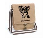 Bekleidung & AccessoiresHundesportwesten mit Hundemotiven inkl. Rückentasche MIL-TEC ®Pinscher Miniatur Rauhaar Canvas Schultertasche Tasche mit Hundemotiv und Namen