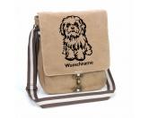 Fußmatten & LäuferFußmatten Hunderasse farbigHavaneser 1 Canvas Schultertasche Tasche mit Hundemotiv und Namen