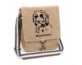 Bekleidung & AccessoiresHundesportwesten mit Hundemotiven inkl. Rückentasche MIL-TEC ®Labradoodle 1 Canvas Schultertasche Tasche mit Hundemotiv und Namen