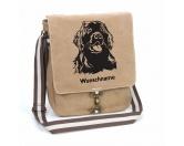 Bekleidung & AccessoiresHundesportwesten mit Hundemotiven inkl. Rückentasche MIL-TEC ®Neufundländer 1 Canvas Schultertasche Tasche mit Hundemotiv und Namen