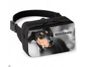 Taschen & RucksäckeCanvas Tasche HunderassePinscher Bauchtasche - mit Wunschname
