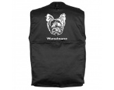 Schmuck & AccessoiresVersilberte AnhängerYorkshire Terrier 1 - Hundesportweste mit Rückentasche MIL-TEC ®