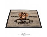 Fußmatten & LäuferFußmatten Hunderasse farbigDachshund - Farbige Fußmatte - Schmutzfangmatte - 40 x 60 cm