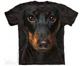 Tiermotiv TassenTassen HunderassenThe Mountain T-Shirt - Dackel Dachshund Face
