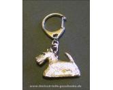 Schmuck & AccessoiresMetall-Hundekopf PinsSchlüsselanhänger Scottish Terrier