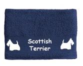 Schmuck & AccessoiresHunderassen Schmuck AnhängerHandtuch: Scottish Terrier 1