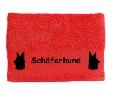 Bekleidung & AccessoiresSchals für TierfreundeHandtuch: Schäferhund 5
