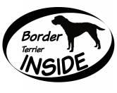 Socken mit TiermotivSocken mit HundemotivInside Aufkleber: Border Terrier 2
