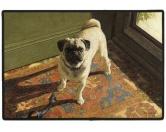 Tierische FußmattenDesigner Fußmatte: Mops 3