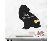 Taschen & RucksäckeGeldbörsen & HandytaschenKreidetafel Hunderasse: Basset 1