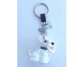 Schmuck & AccessoiresMetall-Hundekopf PinsPorzellan-Schlüsselanhänger: Scottish Terrier