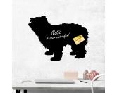 Fußmatten & LäuferFußmatten Hunderasse farbigPyrenäen Schäferhund - Kreidefolie zum Beschriften, selbstklebend