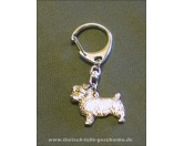 Schmuck & AccessoiresMetall-Hundekopf PinsSchlüsselanhänger Norfolk Terrier