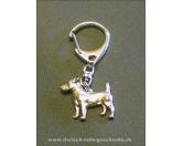 Schmuck & AccessoiresHunderassen-Broschen versilbert/vergoldetSchlüsselanhänger Jack Russell Terrier