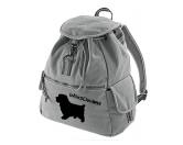 Schmuck & AccessoiresHunderassen Schmuck AnhängerCanvas Rucksack Hunderasse: Norfolk Terrier 1