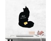 Schmuck & AccessoiresSchmuck für KatzenfansSelbstklebende Kreidetafel: Maine Coon Katze