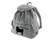 Schenken & ZubehörKleinigkeiten die Freude machenCanvas Rucksack Hunderasse: Mops 2