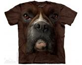 T-ShirtsHunderassen T-ShirtsThe Mountain T-Shirt - Boxer Face