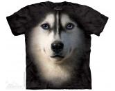 T-ShirtsHunderassen T-ShirtsThe Mountain T-Shirt - Husky Siberian Face