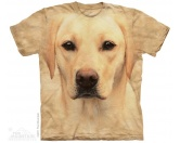 Aufkleber & TafelnThe Mountain T-Shirt - Labrador Yellow Lab