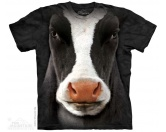 Tierische TürstopperTürstopper TiereThe Mountain Shirt Kuh - Black Cow Face