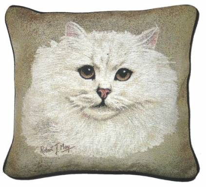 hunde katzenmotiv baumwoll kissen katze perser 2 tierisch tolle geschenke. Black Bedroom Furniture Sets. Home Design Ideas