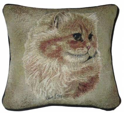 hunde katzenmotiv baumwoll kissen katze perser tierisch tolle geschenke. Black Bedroom Furniture Sets. Home Design Ideas