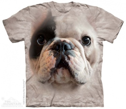 The Mountain-Shirts Hunde The Mountain Shirt Französische Bulldogge - Big Face Manny