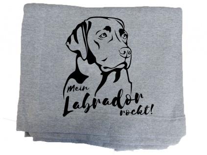 Hundedecken & MöbelFleece Schmusedecke -Labrador- 127 x 150 cm
