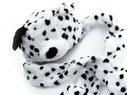 Hüte & MützenFunny Plüsch Mütze: Hund - Dalmatiner