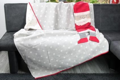 decke in puppe weihnachtsmann by david fussenegger 140 200 tierisch tolle geschenke. Black Bedroom Furniture Sets. Home Design Ideas