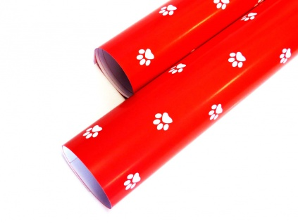 geschenkpapier f r hundefreunde pfote bunt tierisch tolle geschenke. Black Bedroom Furniture Sets. Home Design Ideas