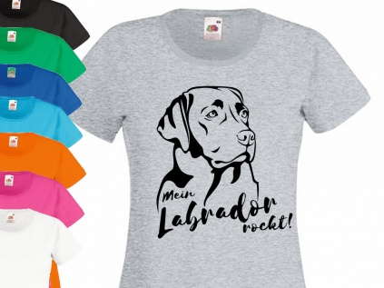 Hunderassen T-ShirtsHunderasse Damen T-Shirt: Labrador