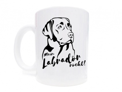 Labrador Fan KollektionTasse Hunderasse: Labrador