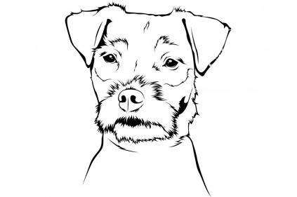 wandtattoo jack russel terrier tierisch tolle geschenke. Black Bedroom Furniture Sets. Home Design Ideas