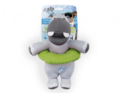 Kühlartikel für HundeChill Out - LifeGuard Hippo schwimmfähiges Hundespielzeug
