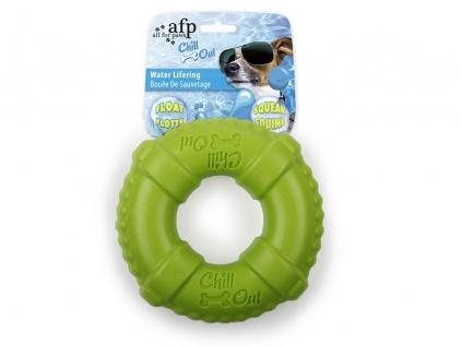 Spielzeuge für HundeChill Out - Water LifeRing -grün- schwimmfähiges Hundespielzeug
